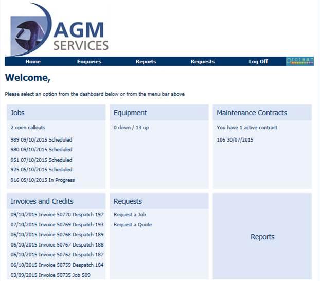 Customer Information Portal