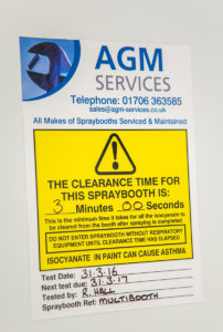 Mist Clearance Testing from AGM Services