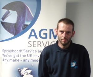 AGM Services engineer Mick Gaunt