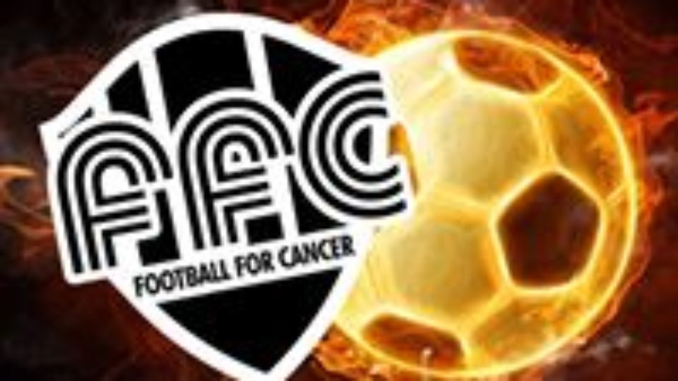 Football for cancer logo
