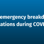 Our emergency breakdown operations during COVID-19